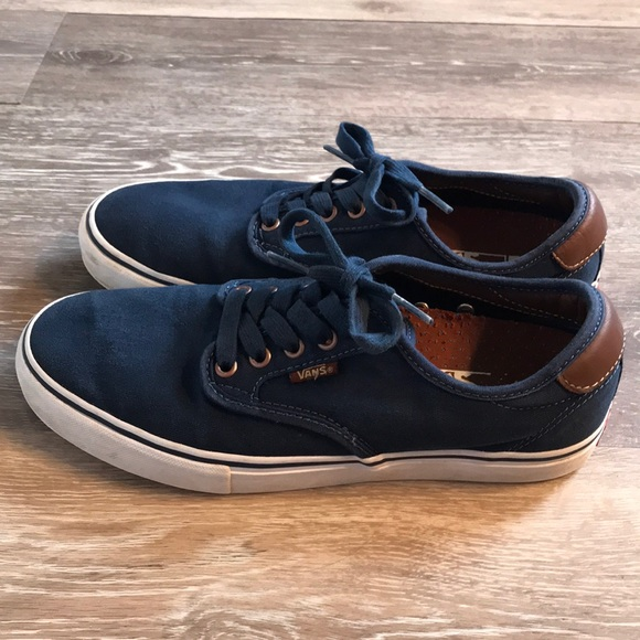 navy vans chaussures sale